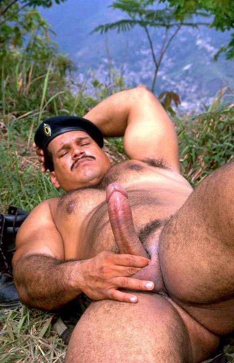 Military Muscly Bears Cum